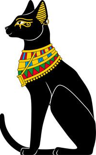 Protection Evil Eye Ancient Egyptian Cat image