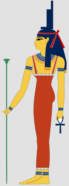 Resolve family problems - ancient Egyptian goddess Isis image